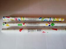 3 x gemustert Herlitz Klebefolie selbstklebende Möbelfolie Dekorfolie 45 x 200cm