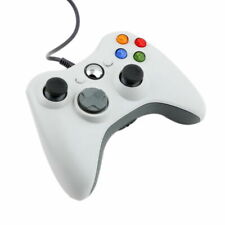 WHITE USB Wired Xbox 360 Controller Game Pad For Microsoft Xbox 360 UK FASTPOST