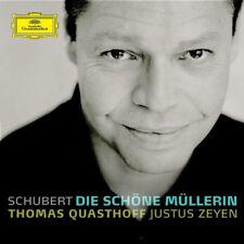 t. quasthoff/j. zeyen-Schubert: die schöne müllerinlimited edition: cd + bonus d