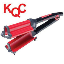 KQC Xtreme Deep Waver Tourmaline / Ceramic Hybrid Iron (40mm) + KQC Shine Spray