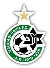 Maccabi Haifa FC Israel Soccer Football Car Bumper Sticker Decal 4'' x 5''