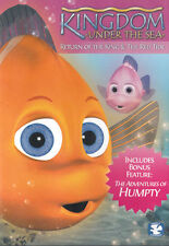 NEW Sealed Christian Kids DVD! Kingdom Under the Sea (3 Animated Episodes)