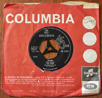 """Ken Dodd With Geoff Love And His Orchestra – Tears 7"""" – DB 7659 – VG"""