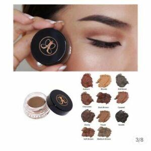 Anastasia Beverly Hills Dipbrow Pomade FREE Duo Brush #12 Eye Brow Makeup US