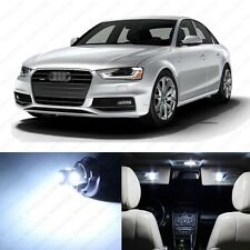 14 x Xenon White LED Interior Light Package For 2009 - 2013 Audi A4 S4 B8