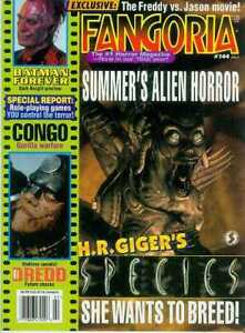 Fangoria # 144 (Species, Judge Dredd) (USA, 1995)