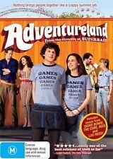 Adventureland (2009) Jesse Eisenberg, Kristen Stewart - NEW DVD - Region 4