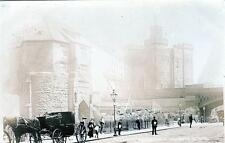 Black Gate Castle Newcastle-on-Tyne RP old postcard used 1905 John Walker 2533