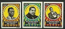 MALI GRANDS MUSICIENS NOIRS BLACK SINGERS ARMSTRONG NON DENTELES IMPERFS ** 1971