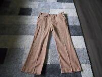 Vintage Levi's Plaid Pants Panatela Signature Retro 1950's 37 x 29 Men's Clothes
