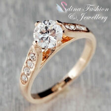 Simulated Stone Rose Gold Plated Fashion Jewellery