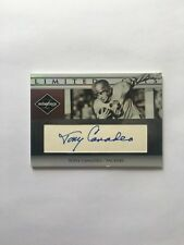 3/150 TONY CANADEO HOF PACKERS Rare Autograph 2007 Leaf Limited 3=Jersey Number