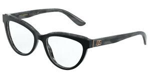 Brand New 2021 Dolce Gabbana Eyeglasses DG 3332 3272 Authentic Italy Frame Case