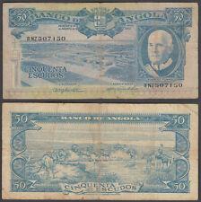 Angola 50 Escudos 1962 (F) Condition Banknote P-93