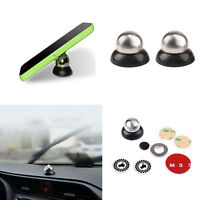 360° Rotating Car Sticky Magnetic Stand Holder Ball Mobile Cell Phones Deco