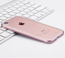 Luxury Aluminum Metal Bumper + Silicone Liner Case Cover For iPhone XS MAX 7 6 8