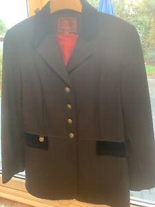 Beautiful Black Mulberry Wool Jacket Size 14
