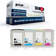 4x Premium Ink cartridges for HP OfficeJet-Pro-L-7580 HP88 - Printer Line Series