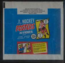1973 O-Pee-Chee WHA Poster Hockey empty 10 cent wrapper  NRMT 45712