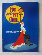 ME AND MY GIRL Playbill DAVID SCHOFIELD / BONNIE LANGFORD / PATRICK CARGILL 1989