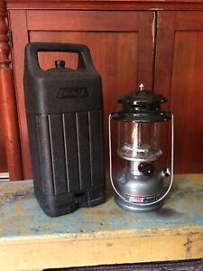 Coleman Dual Fuel 2 Mantle Lantern Model 285 With Case 5 1994