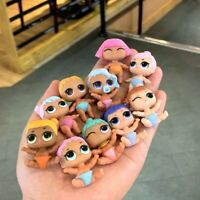 LOT 10 PCS LOL Surprise Lil Doll Color Change Xmas Gift Toys OMG Hair Goals