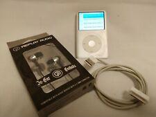 Apple iPod Classic 120GB 7th Generation Silver 2000+ Grateful Dead Songs