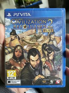 New/Sealed Rare: Civilization Revolution 2 Plus English US Seller PS Vita PSVita