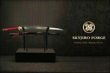 SKYJIRO KIKU-NOHANA JAPANESE NIHONTO SHINKEN SAMURAI KATANA SWORD SIGNED PAPER
