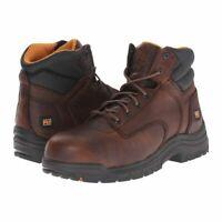 "Timberland PRO Men's TiTAN Waterproof 6"" Alloy Safety Toe Work Boots TB050508"