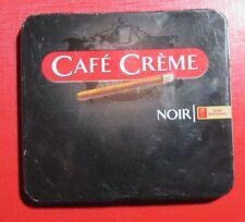 Noir Cafe Creme Tin Metal  Box Case 10 Cigarettes,  Henri Wintermans Holland