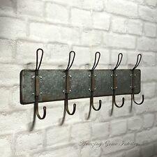 Vintage Industrial Style Wall Mounted Coat Hooks Rack Pegs Towel Rail Urban Chic