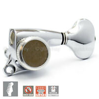 NEW Gotoh 510-MGT DELTA Series 6 in Line Locking Tuning Keys STAG 18:1 - CHROME