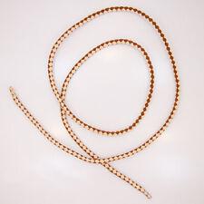 """Bolo Tie Cord - Suede Bolo Cord - Brown / Tan - 36"""" x 4 mm"""