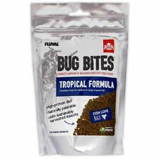 Fluval Bug Bites Tropical (Medium-Large) 125g Tropical Aquarium Fish Food