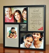 NEW Hallmark Dark Brown Shadow Box Collage Frame with Pewter Heart Embellishment