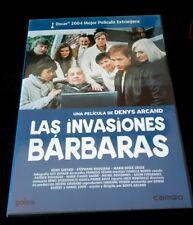LAS INVASIONES BARBARAS - DVD - DENYS ARCAND - OSCAR PELICULA EXTRANJERA 2004