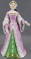 Carl Thieme Dresden Hand Painted Anne De Bourbon Medieval Lady Figurine C. 1913