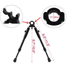 """9.5"""" to 11.5"""" Adjustable Tactical Hunting Rifle Bipod Barrel Clamp On Mount"""