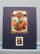Jim Henson - The Muppet Christmas Carol honored by his own stamp