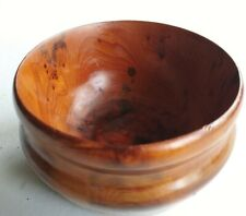 Hand Turned YEW Wood Bowl 13cm