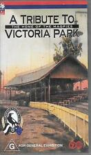 VHS tape a tribute to the home of the magpies Victoria Park Collingwood FC 1999