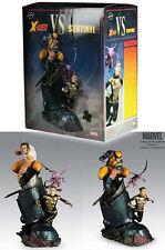 X-Men Vs Sentinel WOLVERINE SHADOWCAT Diorama Statue Sideshow EXCLUSIVE 068/875