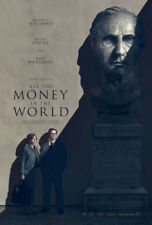 ALL THE MONEY IN THE WORLD MOVIE POSTER 1 Sided ORIGINAL 27x40 RIDLEY SCOTT