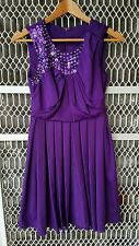 Purple formal dress size S new without tag
