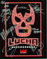 Lucha Underground Autographed 8x10 reprint