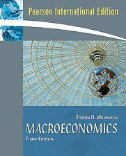 Macroeconomics by Stephen Williamson (Paperback, 2007)