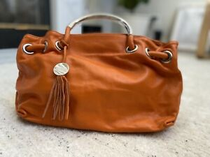 Furla Authentic Leather Handbag New Never Use