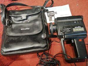Minolta XL-440 Super 8 sound cine camera.