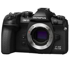 New Olympus OM-D E-M1 Mark III Mirrorless Digital Camera Black